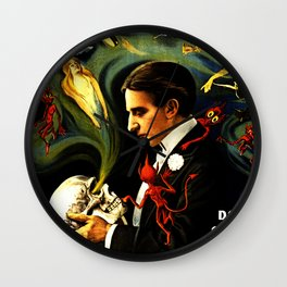Thurston the Great Magician, the Wonder Show of the Universe. Do the Spirits Come Back? Wall Clock