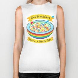 Eat Breakfast! Biker Tank
