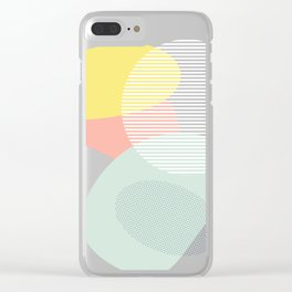 Lost In Shapes III #society6 #abstract Clear iPhone Case