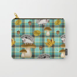 Hedgehogs Carry-All Pouch