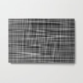 Ambient 7 in Grayscale Metal Print