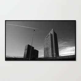 buildings @ Oslo Canvas Print