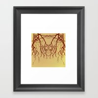 branches#07 Framed Art Print