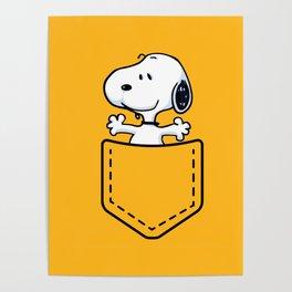 snoopy pocket Poster