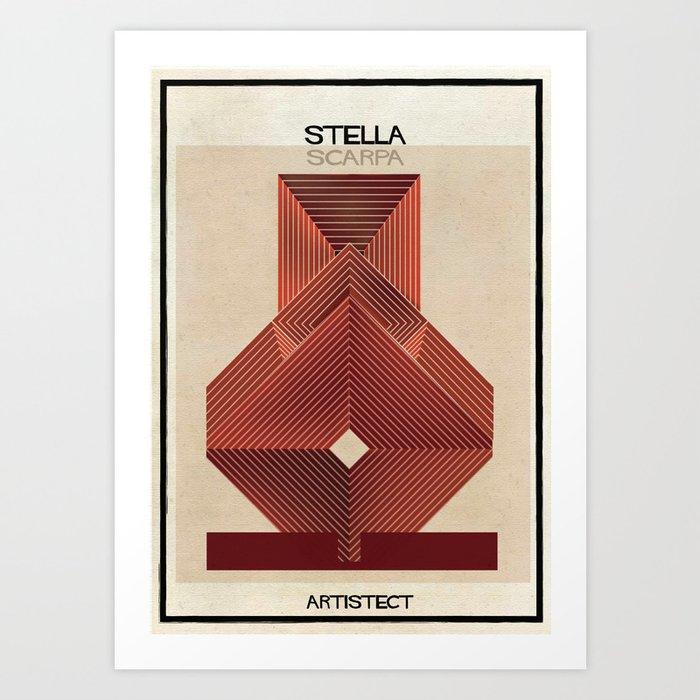 stella+scarpa Kunstdrucke