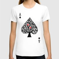 ace T-shirts featuring Ace of spade by Picomodi