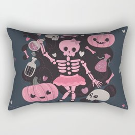 Love Potion Skeleton Dance Rectangular Pillow