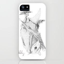 Egyptian Fruit Bat iPhone Case