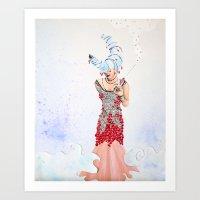 Silvermoon Art Print