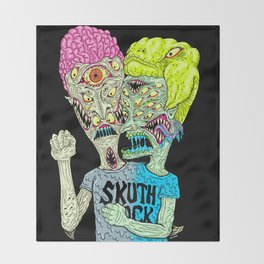 Monster Buddys Throw Blanket