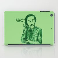 anchorman iPad Cases featuring Anchorman: 60% of the Time by Red Misery