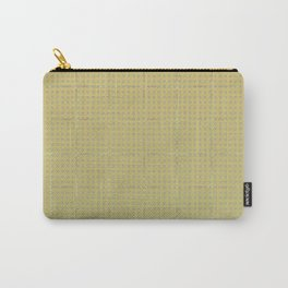 Glama Checks (Olive) Carry-All Pouch
