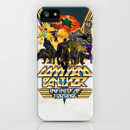 Command Panther iPhone Case