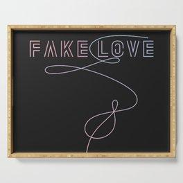 BTS - Fake Love Serving Tray