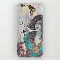 solid iPhone & iPod Skins featuring Solid Air by Mat Miller