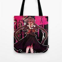 dangan ronpa Tote Bags featuring Syo by mad-maddie