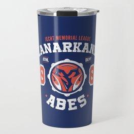 Zanarkand Abes Blitzball Athletic Shirt Distressed Travel Mug