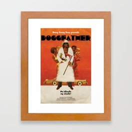 Doggfather Framed Art Print