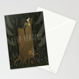 ecologist's daughter Stationery Cards
