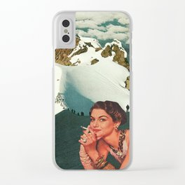 Not Worth the Climb Clear iPhone Case