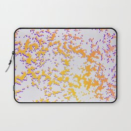 camouflage texture in yellow Laptop Sleeve