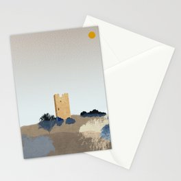 Frankish Medieval Tower Stationery Cards