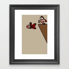 300 Pixels Framed Art Print