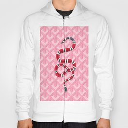 Goyard Pink Snake Hoody