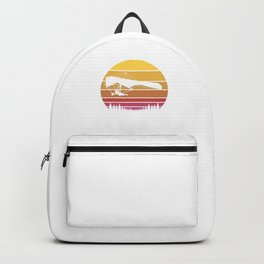 Don´t Follow Me Hang Gliding Retro Deltaplane Gift Backpack
