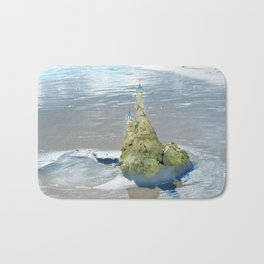 castles in the sand Bath Mat