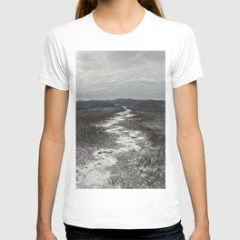Frozen Adirondack River T-shirt