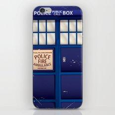 Police Call Box iPhone & iPod Skin