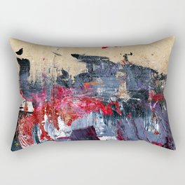 Accidental Abstraction 3 Rectangular Pillow