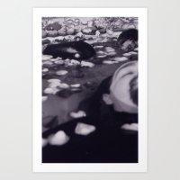 Rick #1 Black and White Ophelia Photo Series Art Print
