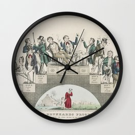 From the First Drink to the Grave Wall Clock
