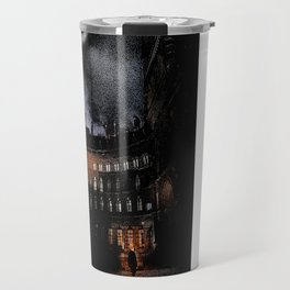 Spooky Victorian London Architecture Travel Mug