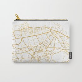 EDINBURGH SCOTLAND CITY STREET MAP ART Carry-All Pouch