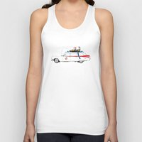 ghostbusters Tank Tops featuring Ghostbusters - Car by V.L4B
