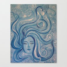 Angeni Maris {Spirit Angel of the Sea} Canvas Print