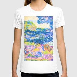 12,000pixel-500dpi - Henri Edmond Cross -Kap Layet - Digital Remastered Edition T-shirt