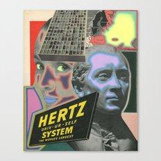 HERTZ Canvas Print