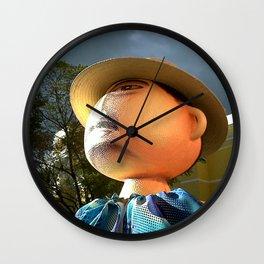 Still photography, pottery Wall Clock