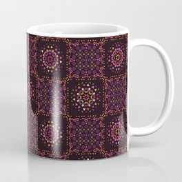 Quilt Patchwork Tile Pattern Coffee Mug