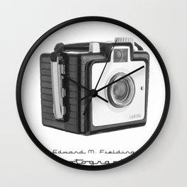 Old Vintage Kodak Brownie Film Camera Wall Clock