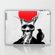 SPLASH SKULL Laptop & iPad Skin