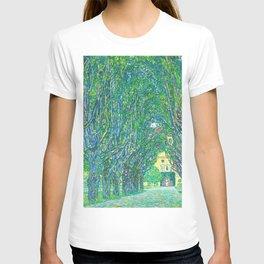 Gustav Klimt - Allee im Park von Schloss Kammer (new editing) T-shirt