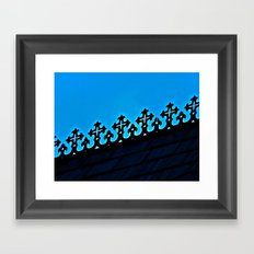 St. James Roof Line Framed Art Print