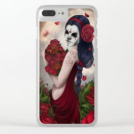 Muerte Clear iPhone Case