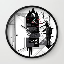 Take it or dream it Wall Clock