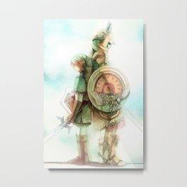 Zelda: Lineage Metal Print